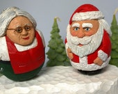 Mrs. Santa Claus and Her Hubby