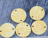 Essential Oil Diffuser Pendant Bead for Aromatherarpy in Bright Yellow