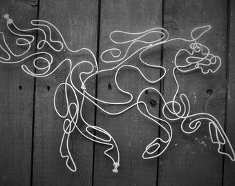 Horse Wire Sculpture