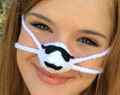 Mustache Warmin' in the Sun Nose Warmer, Outdoor Sports Actitivies,  Sleep with Warm Nose, Tailgating, Party Favor Fun Gift ,Unisex