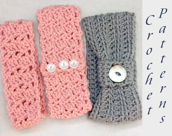 Crochet headband pattern Etsy
