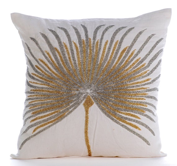 Silk Decorative Pillow Covers : White Decorative Pillow Cover 16x16 Silk Pillows