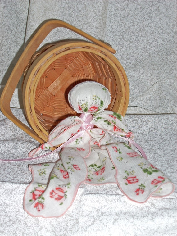 how to make a handkerchief doll