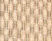 Cream Basket Print 100% Cotton Quilting Fabric