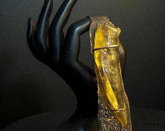 Ancient Amber Wand Pendant