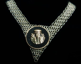 Egyptian Chainmail necklace