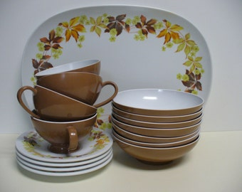 Set of Texas Ware Melamine Dishes