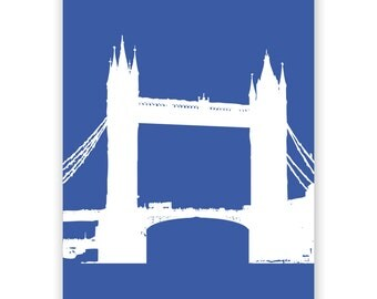 London City Tower Bridge Fine Art Print Home Decor, Tower bridge, Mothers Day