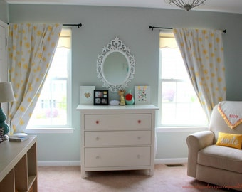 """Window Curtains 64"""", 84"""", 96"""" and Up Window Panels - Blackout Available"""