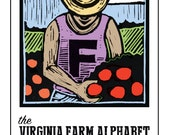 Virginia Farm Alphabet Coloring Book