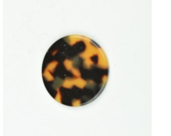 Tortoise  round disc , sold package of 2,  7618