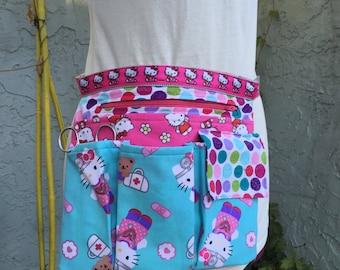 Custom Adjustable Hipster Utility Belt Pouch Fanny Pack Organizer Tool Belt With Zipper Pocket
