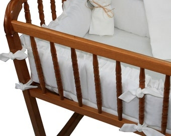 Cradle Bumper ONLY- choose your fabric!
