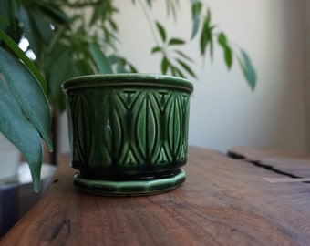 Vintage Green Planter