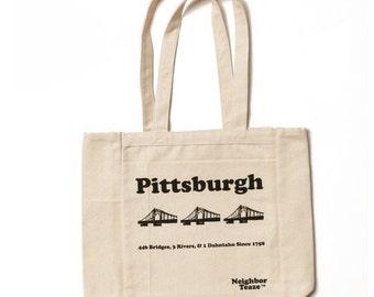 Neighbor Teaze Pittsburgh Cotton Tote