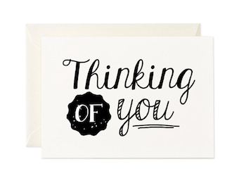 Thinking of You gift card - Any occasion greeting card