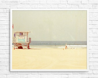 BUY 2 GET 1 FREE Beach Photography, California Photography, Venice Beach, Sand, Ocean, Travel Photography, Wall Decor - Venice Love