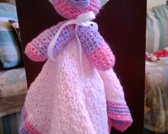 Unique Doll Crocheted Baby Cuddle Blanket