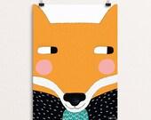 Big Fox 30 x 40 Print