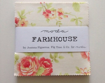 SALE. Farmhouse Charm Pack by Fig Tree and Co for Moda