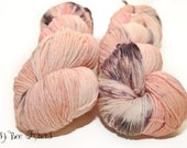 TULIP - Hand Dyed Sock Yarn Fingering Weight - 420 yards approx. SW Merino/Nylon knitting, crocheting, weaving yarn