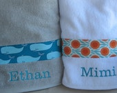 Custom Order for Hermine - Personalized Children's Hooded Bath Towel