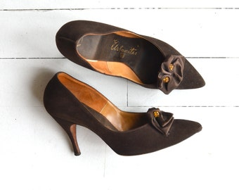 Tour de Ville heels | vintage 1950s shoes | 50s stilettos 7