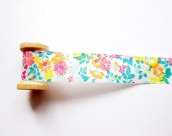 SALE Colorful Floral Masking Tape / Washi Tape / Deco Tape Set - 15mm