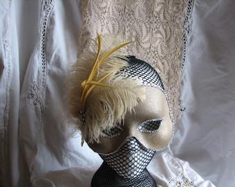 Gold Half Mask