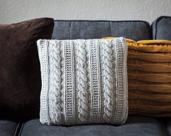 Knit Pillow Pattern: A Twist of Comfort