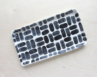 Porcelain Nesting Tray in Brick - Large - Made to Order
