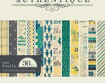 Authentique 6x6 Paper Pad - Curiousity
