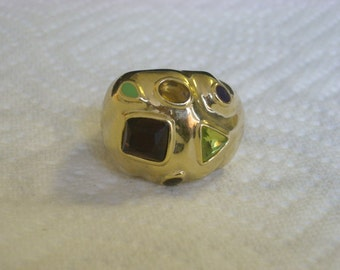 crystal ring gemstones ( X 84 )