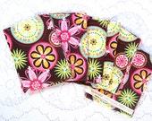 Fabric Scrap Bundle - Sewing Supplies - Quilting Fabric - Destash - Carnival Bloom - Michael Miller