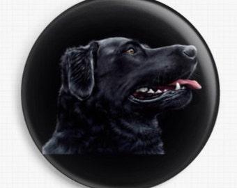 Dog Needle Minder, Black Labrador, Irina Garmashova-Cawton, Cross Stitch Keeper, Pet Fridge Magnet, Cross Stitch Accessory, Needle Nanny