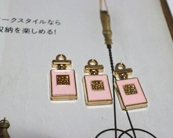 Pink perfume charm