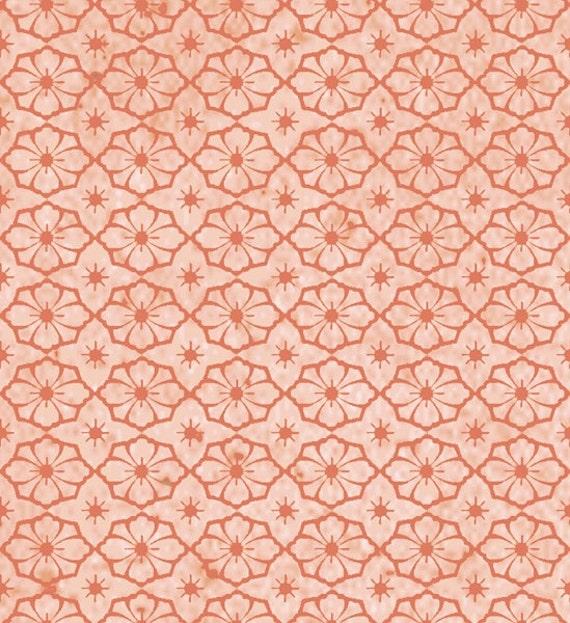Geo Texture in Light Rust Half Yard Cotton Fabric