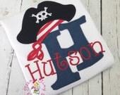 Personalized Pirate Shirt ~ Neverland Theme Shirt ~ Ahoy Matey Shirt ~ Boys Pirate Shirt ~ Birthday Pirate Outfit ~Jake Pirate Shirt