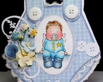 Magnolia Alvin Baby Onesie Card