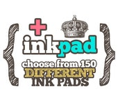 ADD Standard INK PAD to Any Custom Art Wood Mounted Rubber Stamp
