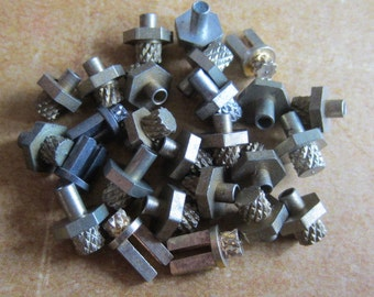 Vintage Brass Clock parts spindles - levers - Robot mix - Levers - Steampunk - Scrapbooking r82