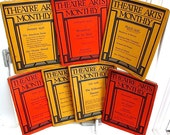 Theatre Arts Monthly Magazine  12 issues: 1933 (1 issue) 1936 (7 issues) ) 1937 (4 issues)