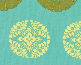 1 HALF YARD Pressed Flower in meadow by Amy Butler