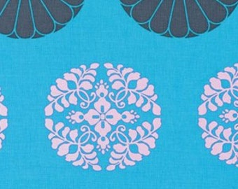 1 HALF YARD Pressed Flower in sky by Amy Butler