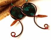 Celtic Jewelry, Celtic Earrings, Artisan Made, Gift