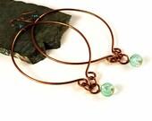 Gypsy Jewelry, Gypsy Earrings, Large Hoop Earrings, Gift