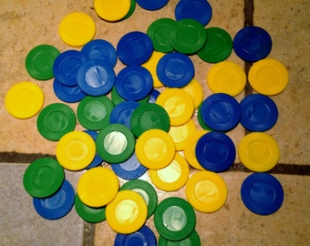 Lot of 53 Game Chips