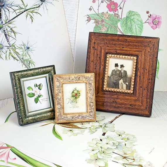 3 frames collection cottage style photo frames from for Bungalow style picture frames