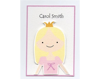 Little Princess Calling Card