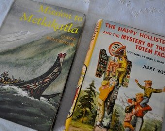 Mission to Metlakatla/Vintage 1960s/Book About The First People of Alaska/First Edition Signed By Author